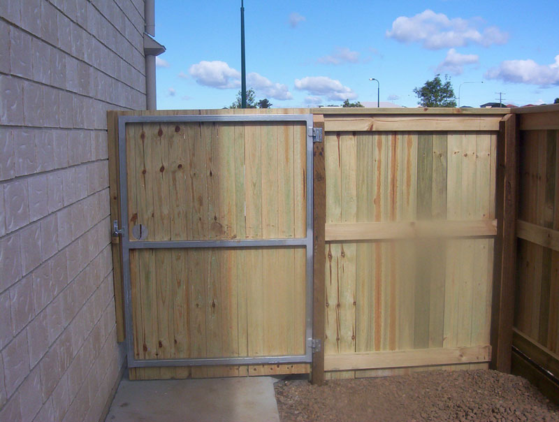 Timber Fencing The Fence Place